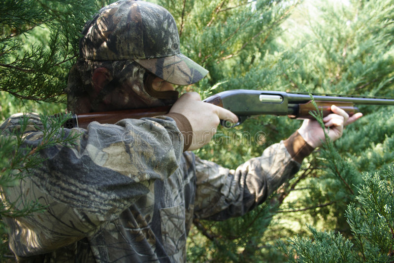 Chasse de chasseur image stock