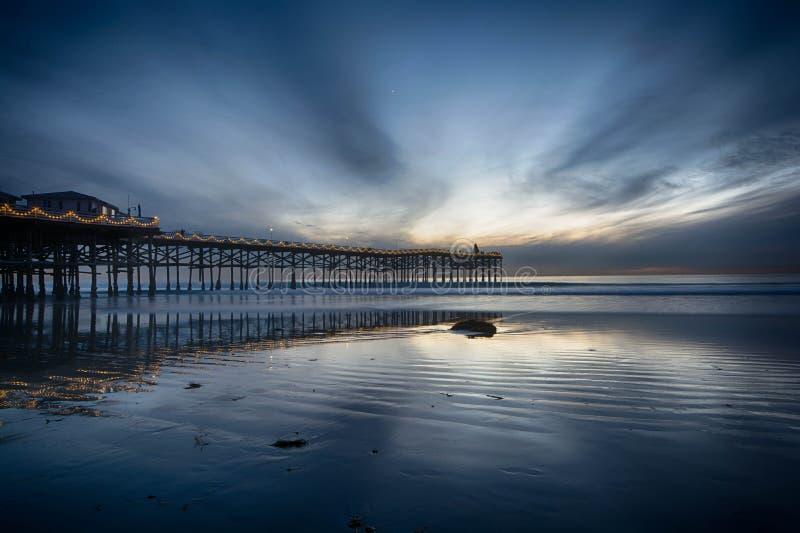 Chasse des couchers du soleil photo libre de droits
