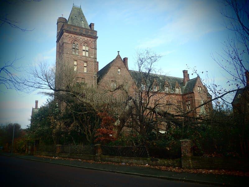 Chasses à Ghost d'hôpital de parc de Newsham - Liverpool photographie stock