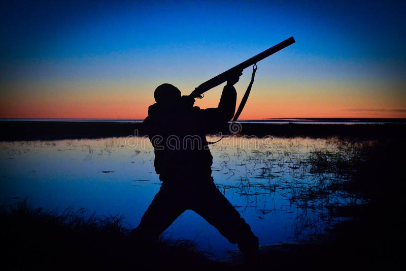 chasseur photo stock