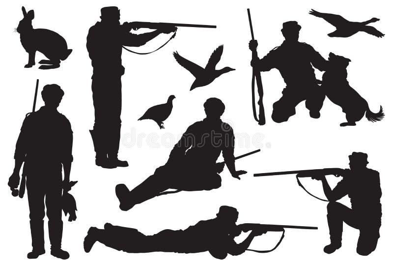 chasseur illustration libre de droits