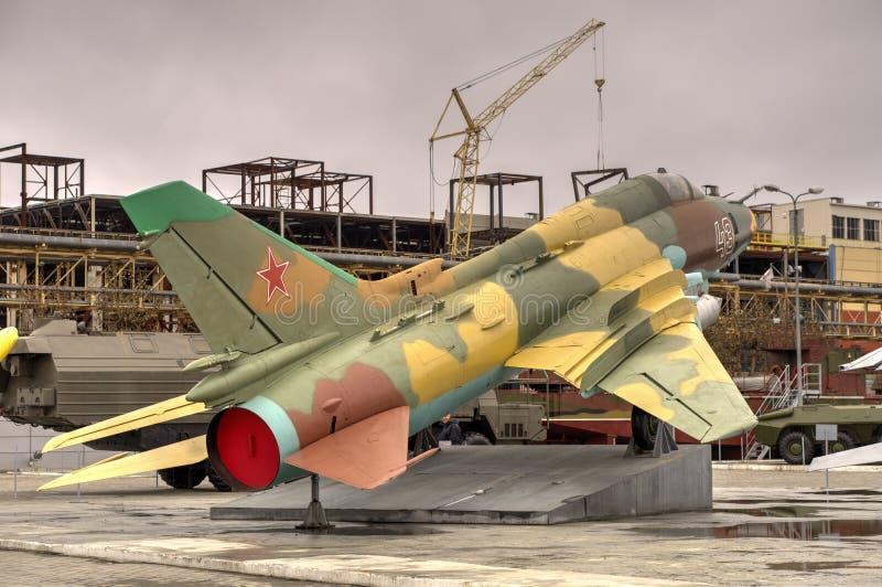 Chasseur-bombardier russe Su-17 photo libre de droits