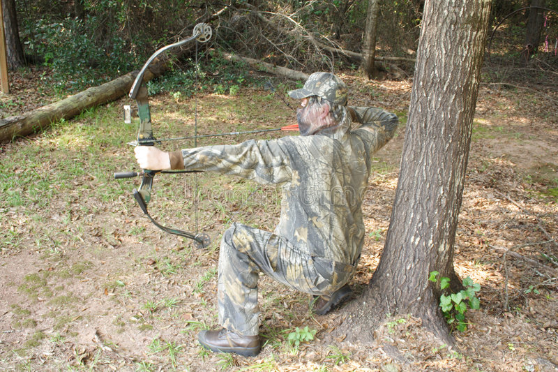 Chasseur - chasse photographie stock