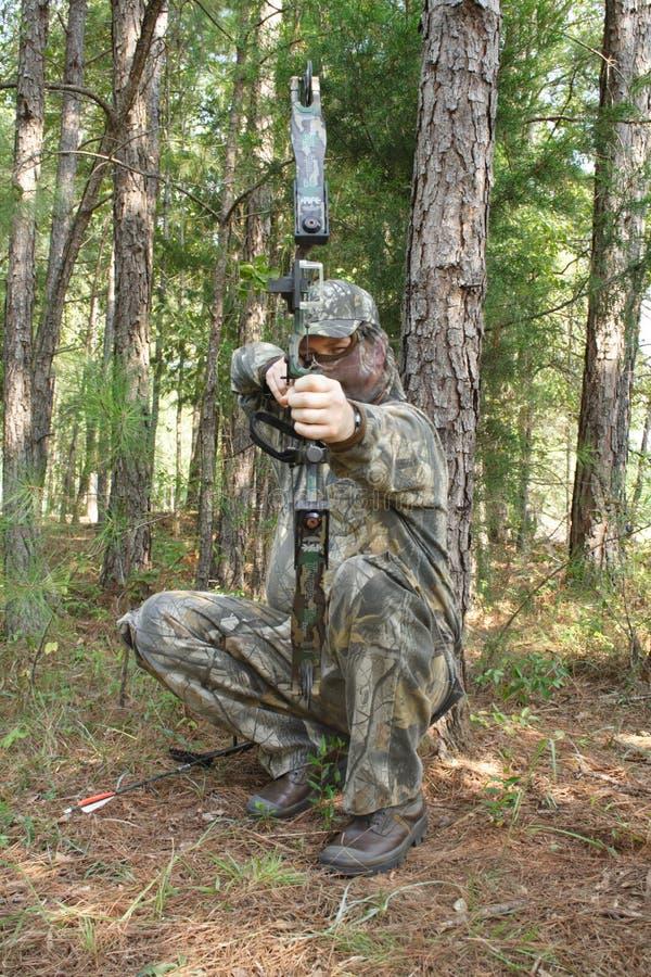 Chasseur - chasse image libre de droits