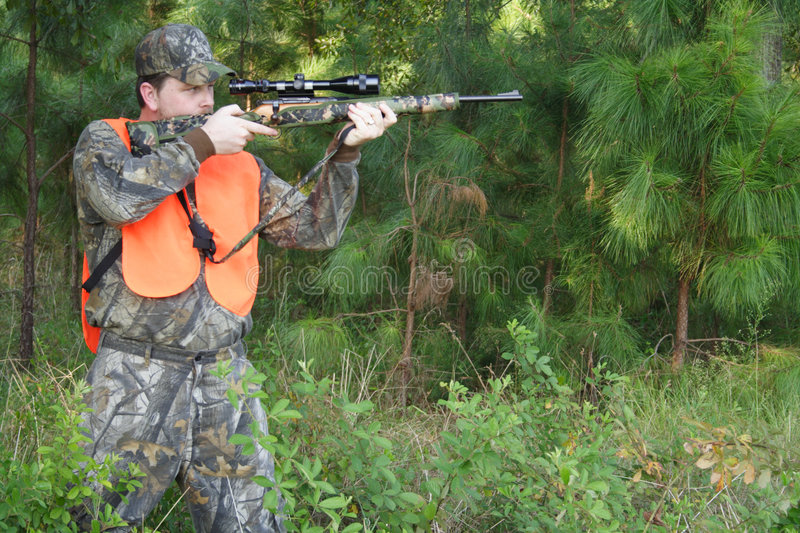 Chasseur - chasse - sportif images stock