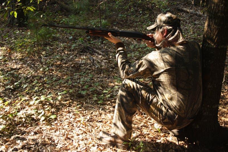 Chasseur - chasse - sportif image libre de droits