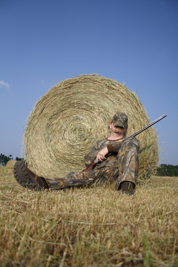 Chasseur - chasse - sportif photo stock