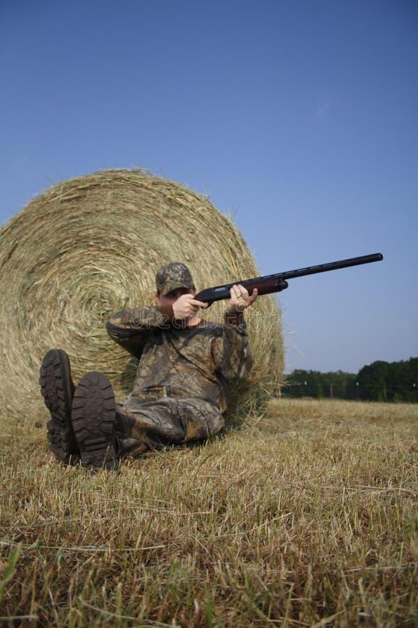 Chasseur - chasse - sportif images libres de droits