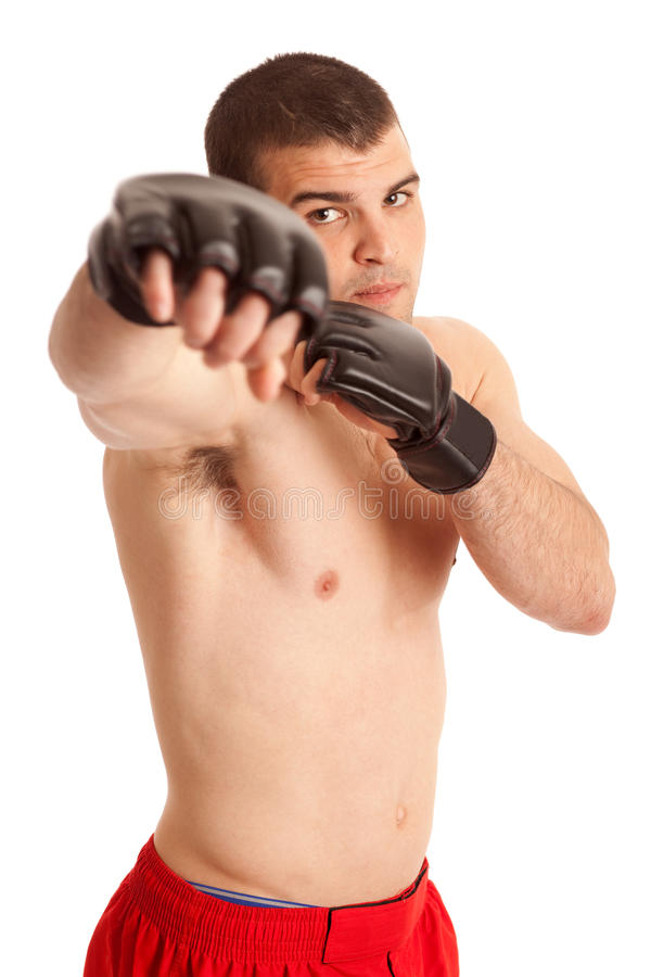 Chasseur de MMA photos stock