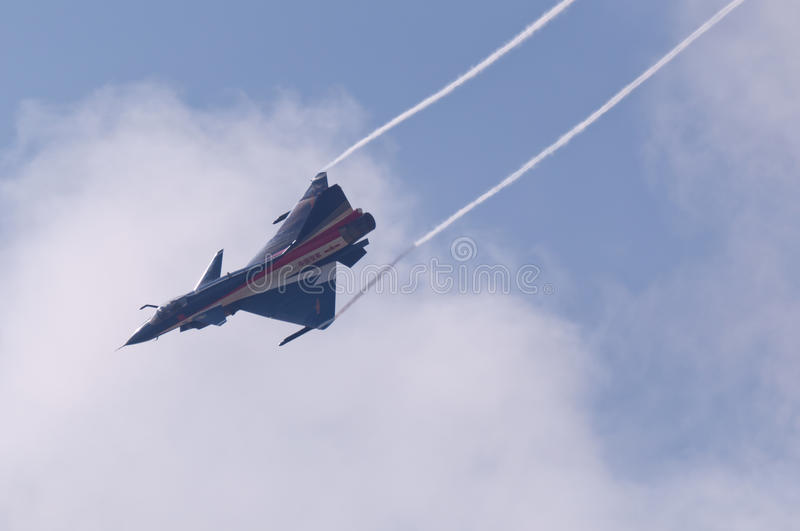 Chasseur neuf d'intercepter de la Chine - J-10 photo stock