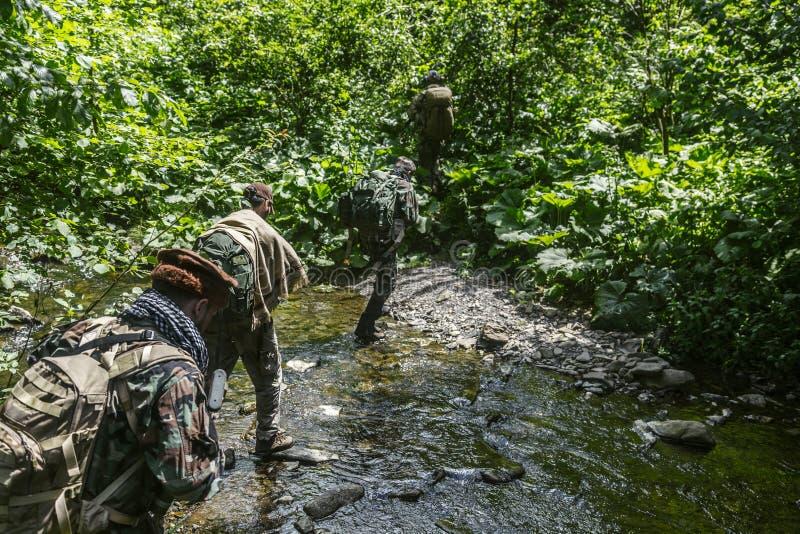 Chasseurs de Taliban de Navy Seals photographie stock