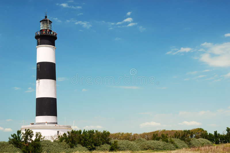 Chassiron lighthouse II royalty free stock image