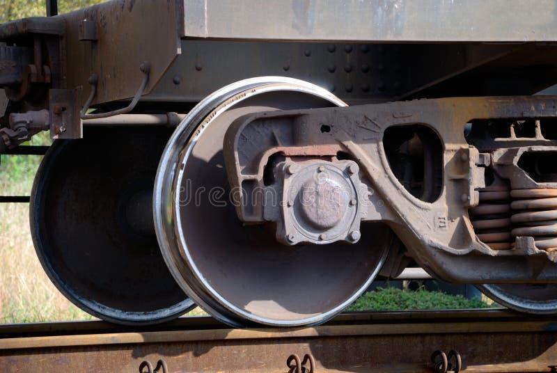 Chassis des Bahnautos lizenzfreie stockbilder