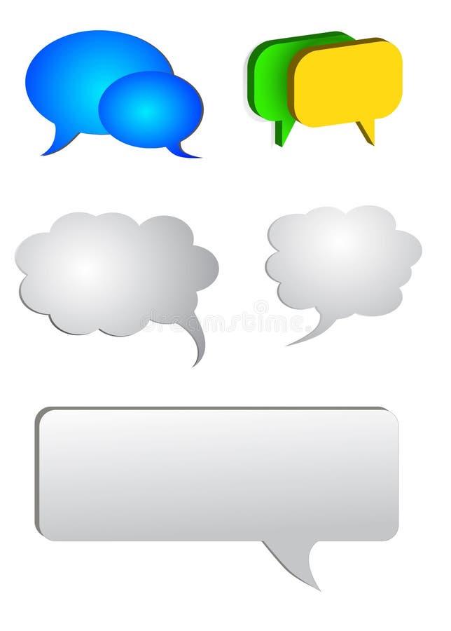 Chat stock illustration