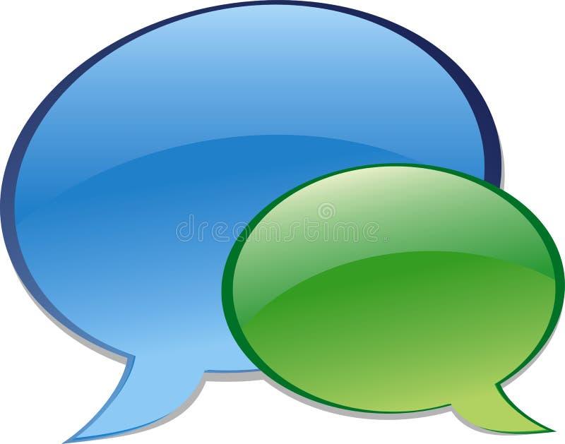 Chat. Bubble chat icon. Aqua style