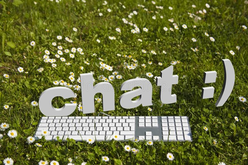 Download Chat stock illustration. Image of field, nature, outdoors - 23076120