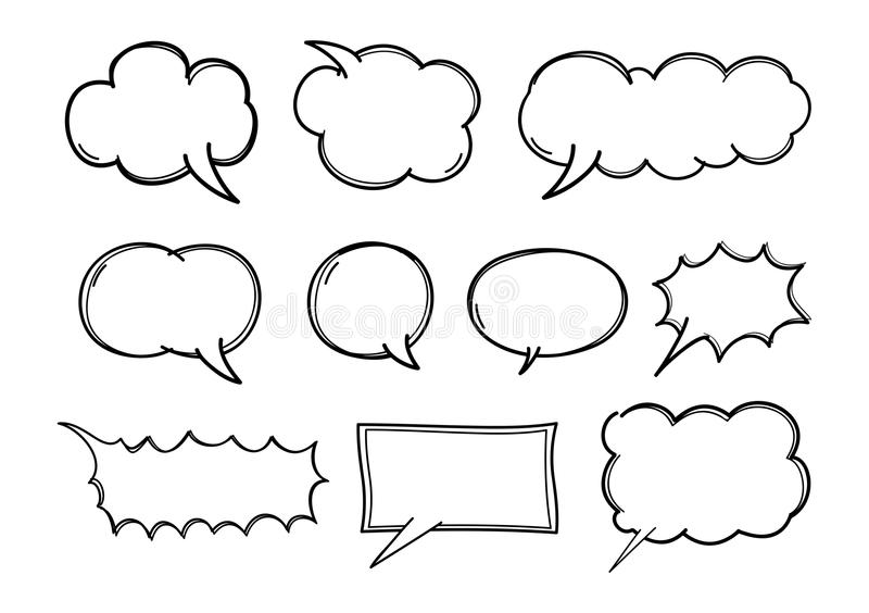 Download Chat stock vector. Illustration of speech, bubble, pair - 28317513