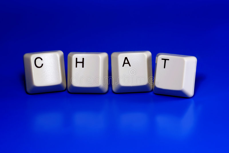 Download Chat stock photo. Image of keys, chatting, internet, word - 4183220