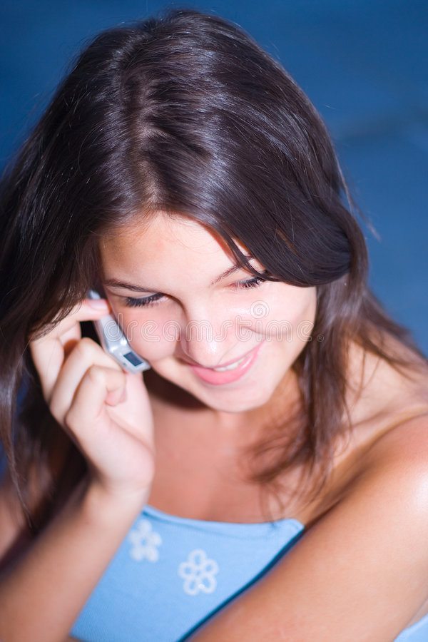 Download Chat stock photo. Image of brunette, blue, hand, head, discussing - 450678