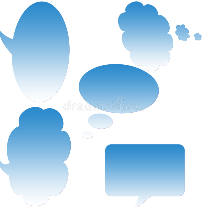Download Chat balloons stock illustration. Image of inspiration - 6938938