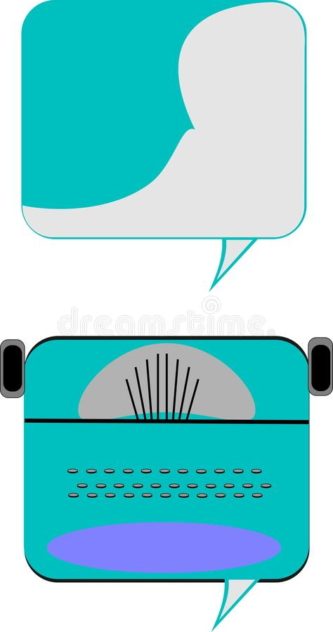 Download Chat bubbles stock vector. Image of balloon, bubble, communication - 21509576
