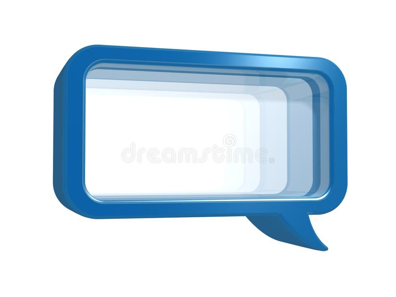 Download Chat frame with glass stock illustration. Image of talking - 17032775
