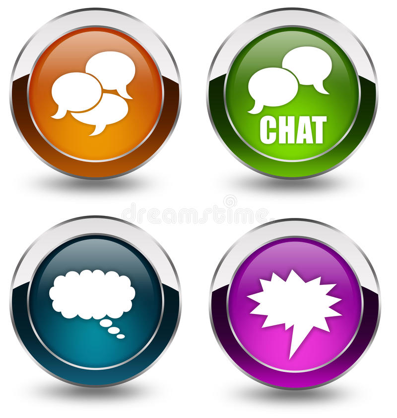 Download Chat Icon Stock Photos - Image: 15199403