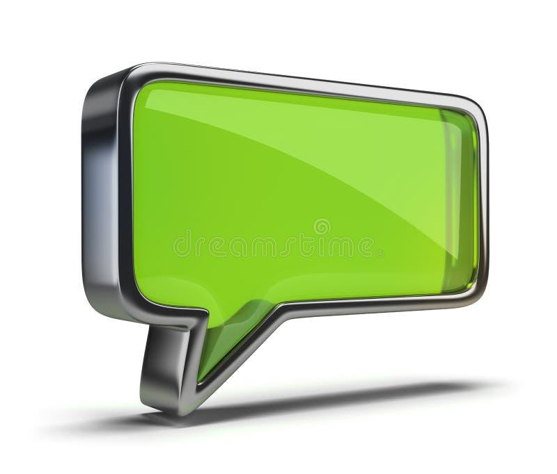 Chat icon stock illustration
