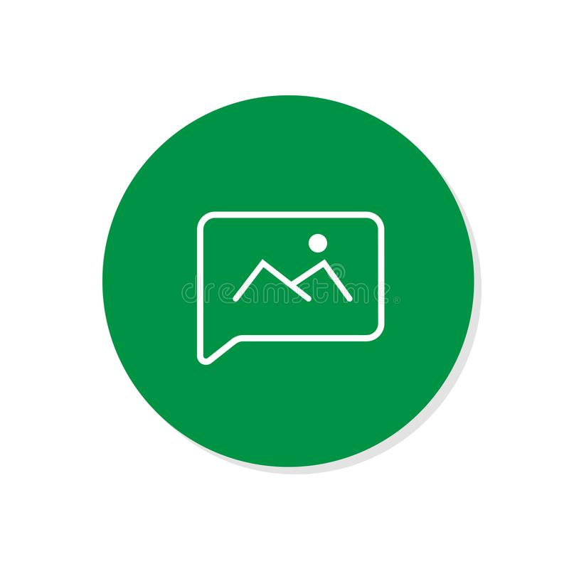 Chat icon. Voice speech bubble vector icon. Messages icon. Communicate symbol. Dialogue of people vector illustration