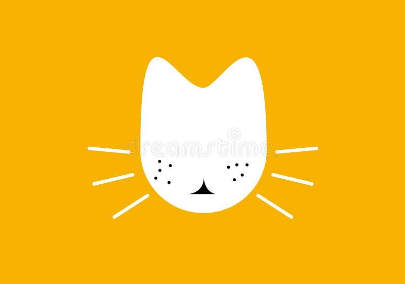 Chat/illustration illustration libre de droits