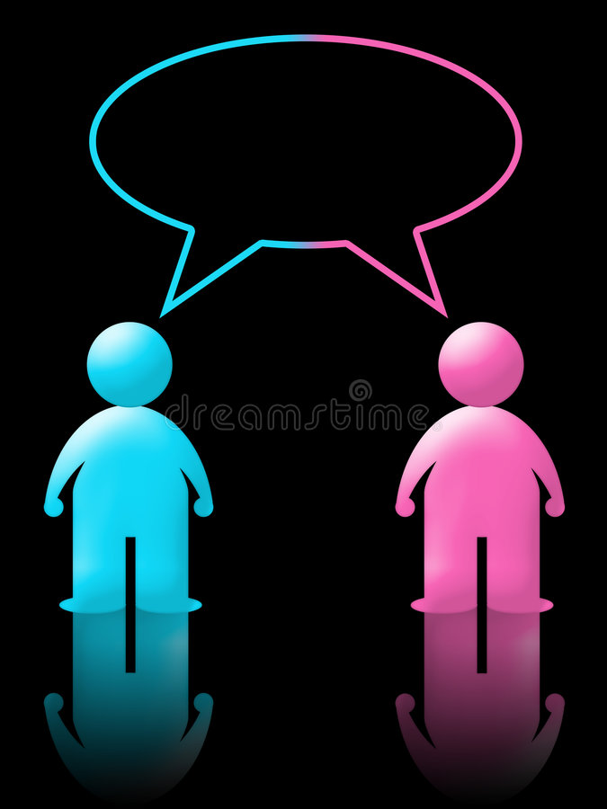 Chat and live messenger (01) stock photos