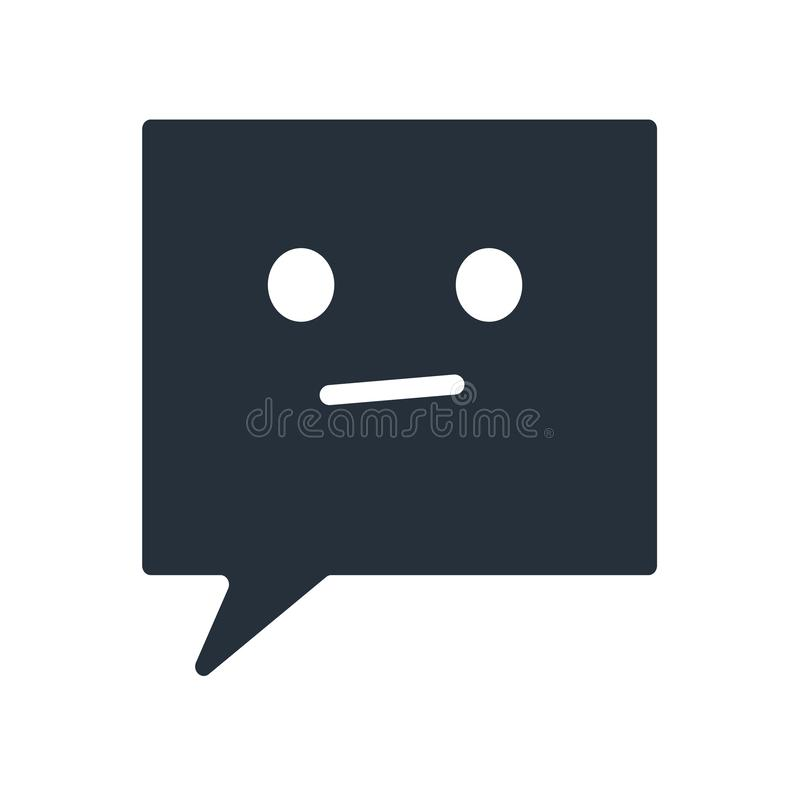 Chat speech bubbles icon vector sign and symbol isolated on white background, Chat speech bubbles logo concept vector illustration