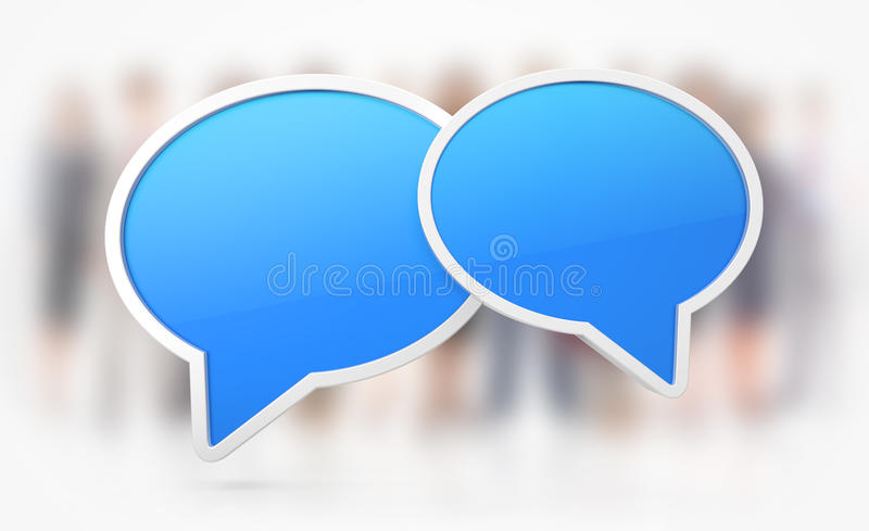 Download Chat Or Speech Symbols Stock Photos - Image: 22592313