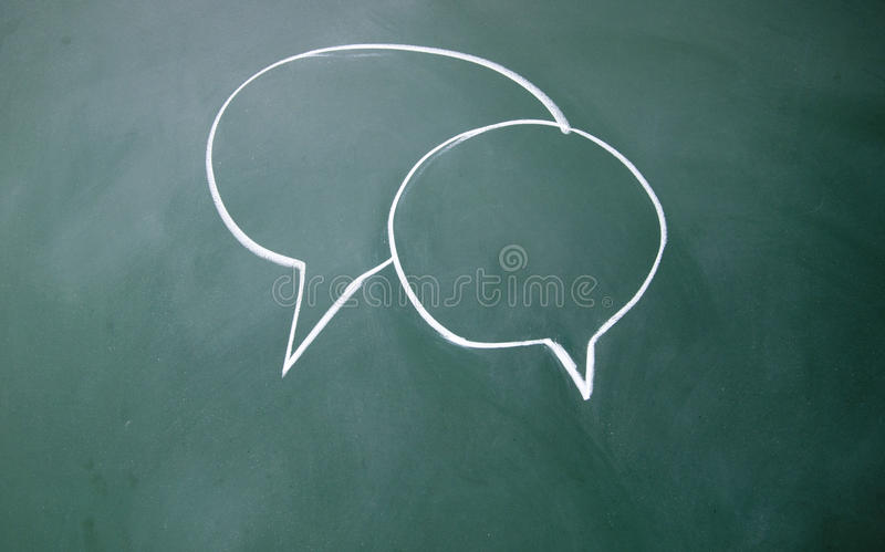 Download Chat symbol stock photo. Image of chalk, graphic, frame - 25812048