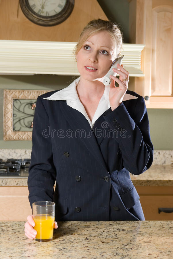 Chat Before Work Royalty Free Stock Image