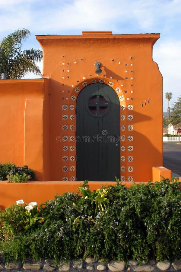 chata hiszpański styl zdjęcia stock