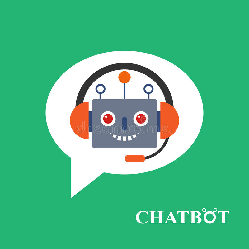 Download Chatbot Icon Concept Stock Illustration - Image: 80343434