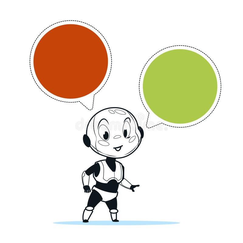 download chatbot机器人闲谈马胃蝇蛆支持技术聊天真正协助概念 向量
