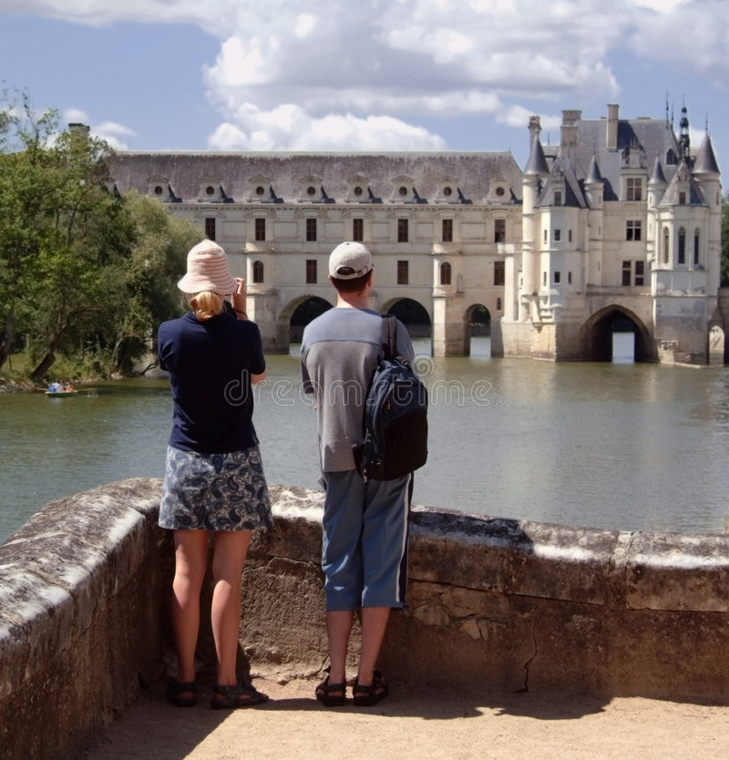 Chateau royalty-vrije stock afbeelding