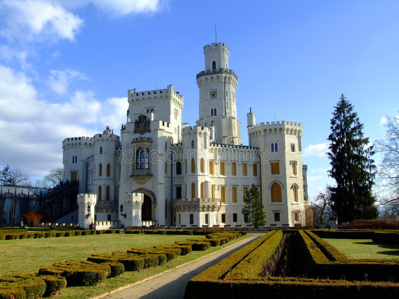 Chateau royalty-vrije stock afbeeldingen