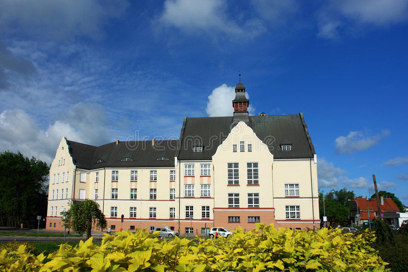 Chateau fotografia stock