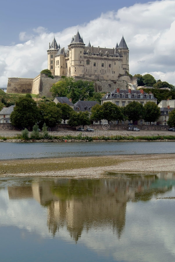 chateau royaltyfri bild