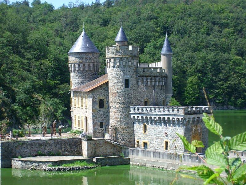 chateau arkivfoto