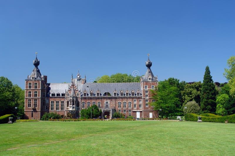 Chateau Arenbergh, Belgium stock image