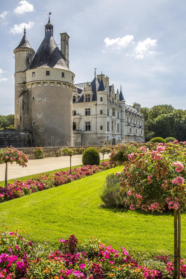 Chateau Chenonceau - Loire Valley - France royalty free stock images