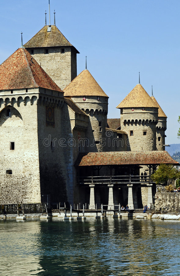 Free Chateau Chillon Royalty Free Stock Photography - 5005387