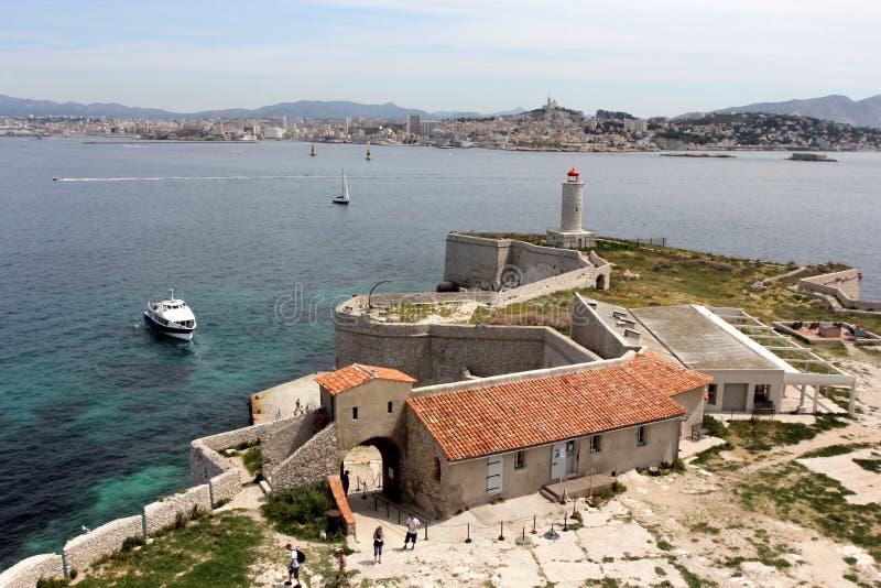 Chateau D als in Marseille stock fotografie