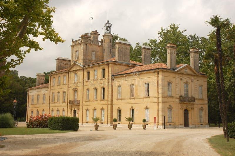 Chateau d'Avignon royalty-vrije stock afbeelding