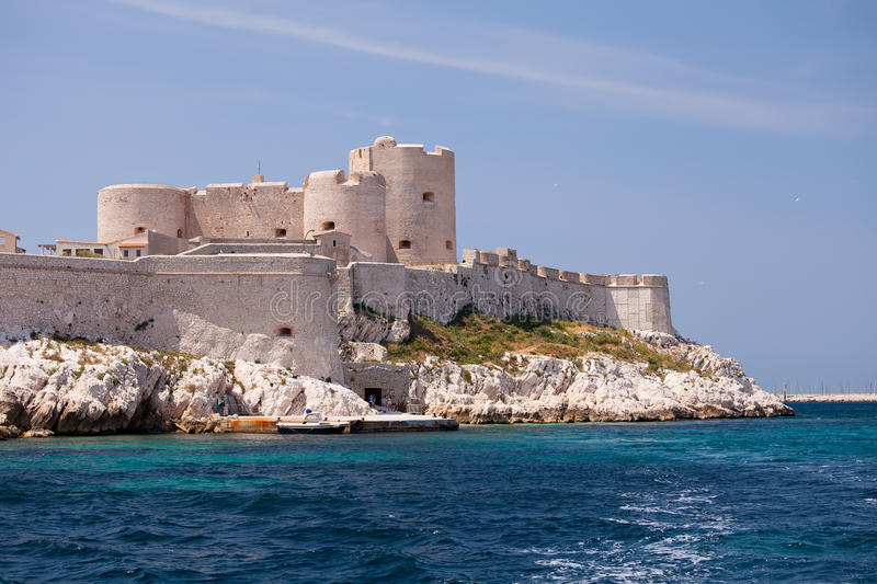 Chateau D'If, Marseille stockfoto