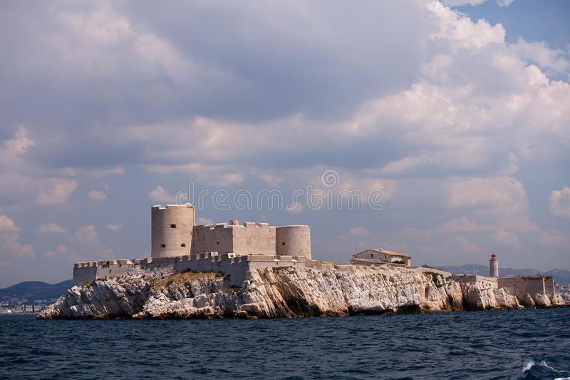 Chateau D If, Marseille Royalty Free Stock Photos